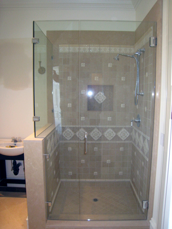 central oregon residential glass shower