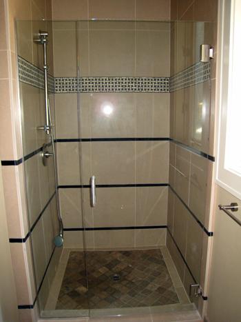oregon residential glass shower