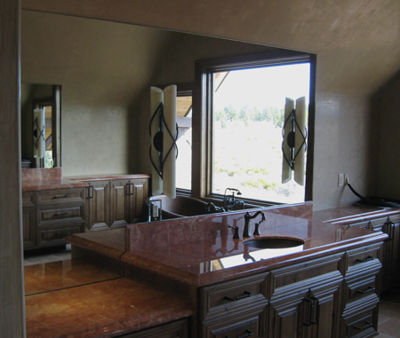 central oregon bathroom mirrors