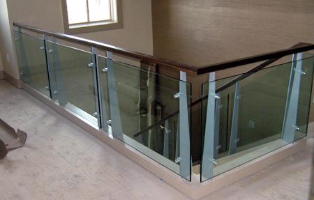 glass railing central oregon