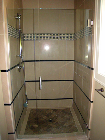 residential shower door