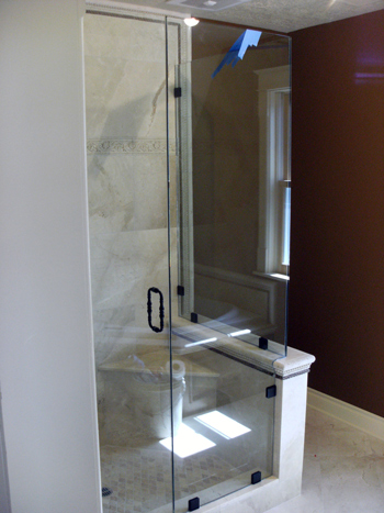 residential glass doors installation