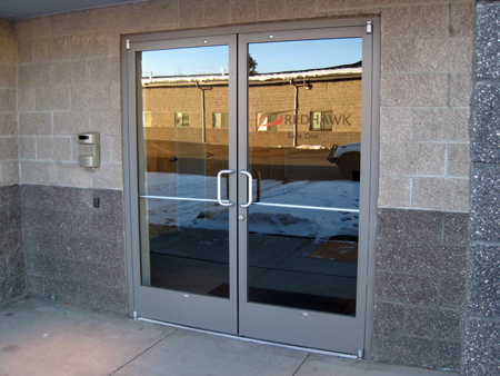 bend oregon commercial glass doors