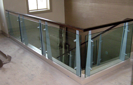 residential glass railing central oregon