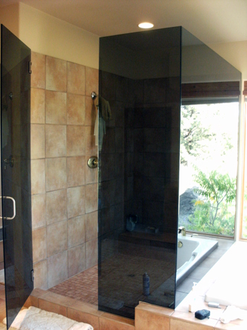residential glass showers central oregon