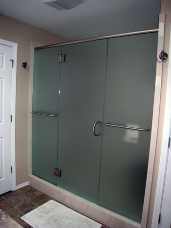 residential glass shower oregon