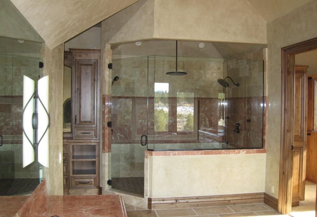 central oregon shower installation